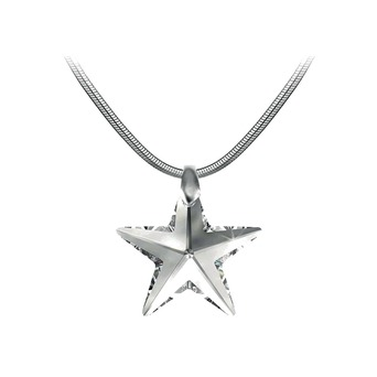 Vente Articles : Collier étoile blanche So Charm orné de Cristaux Swarovski®  - So Charm  - So Charm