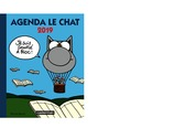 Vente  Agenda Chat grand format 2019  - Philippe Geluck