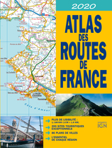 Vente  Atlas des routes de France 2020