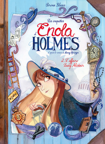 Vente Livre : Enola Holmes - Tome 2 - L'Affaire Lady Alistair  - Serena Blasco