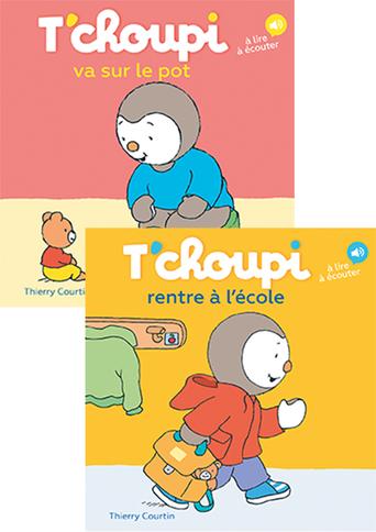 T Choupi Va Sur Le Pot T Choupi Rentre A L Ecole Thierry Courtin Livre Belgique Loisirs
