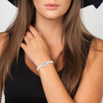 Vente Articles : Bracelet menottes So Charm  - So Charm