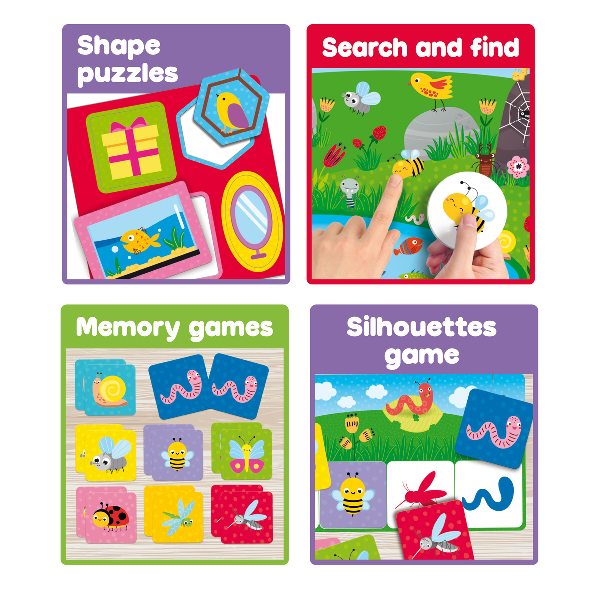 CAROTINA BABY Educational Multi-games