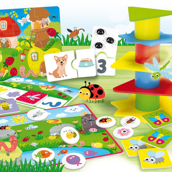 Vente JEUX : CAROTINA BABY Educational Multi-games